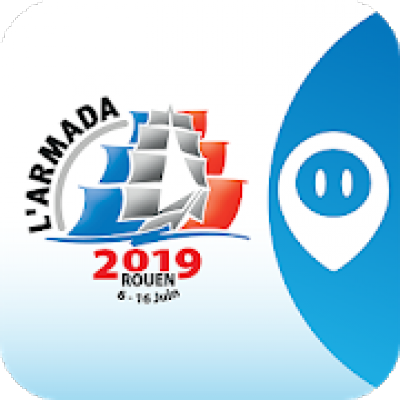 L'application gratuite Armada 2019 est disponbile