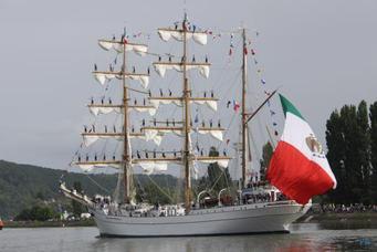 Le Cuauhtémoc sera à l'Armada 2019